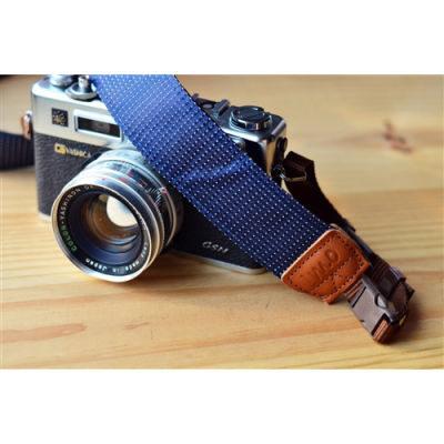 iMo Blauwe Regendruppels Neopreen Camera Strap
