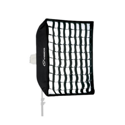 Visico SB-040 Grid Softbox 60 x 200cm VC series met mask(28933)