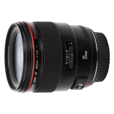 Canon EF 35mm f/1.4L USM objectief