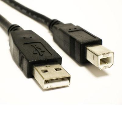 USB 2.0 USB A Male - USB B Male Kabel 3 meter