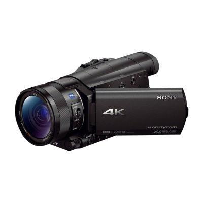 Sony FDR-AX100 4K videocamera Zwart