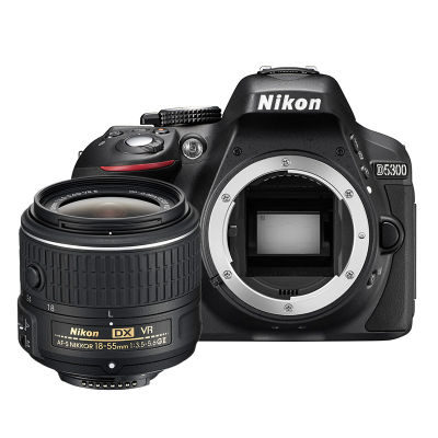 Nikon D5300 DSLR Zwart + 18-55mm VR II