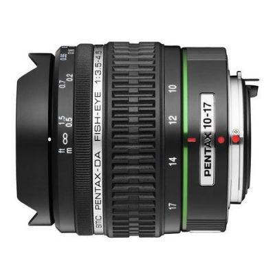 Pentax SMC DA 10-17mm f/3.5-4.5 ED (IF) Fisheye objectief