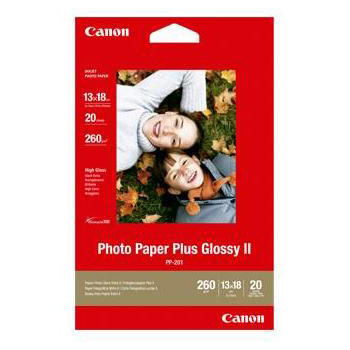 Canon PP-201 Photo Paper Plus (Glossy) 20 sheets 13 x 18cm