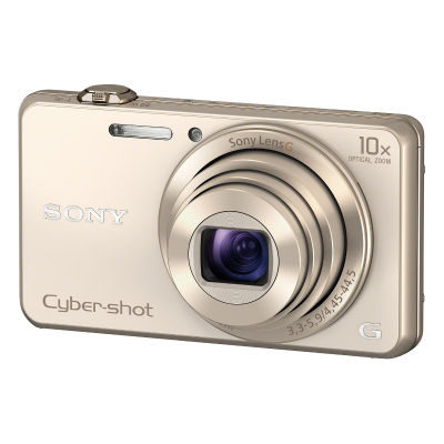 Sony Cybershot DSC-WX220 compact camera Champagne