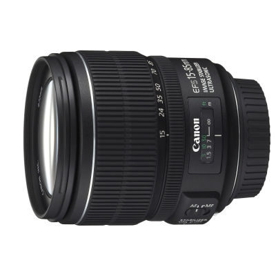 Canon EF-S 15-85mm f/3.5-5.6 IS USM objectief - Occasion