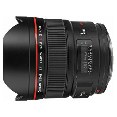 Canon EF 14mm f/2.8L II USM objectief