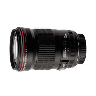 Canon EF 135mm f/2.0L USM objectief
