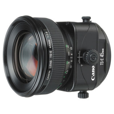 Canon TS-E 45mm f/2.8 objectief