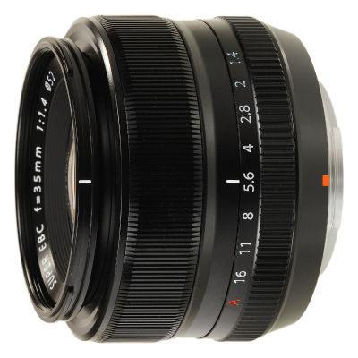 Fujifilm XF 35mm f/1.4 R objectief