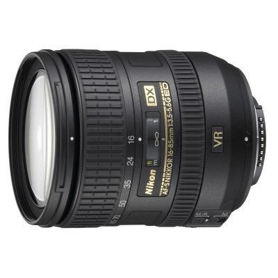 Nikon AF-S 16-85mm f/3.5-5.6G ED VR DX objectief - Occasion