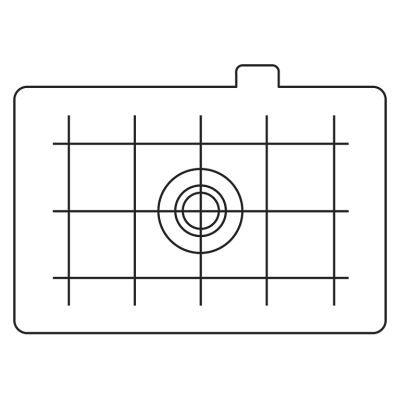Canon EC-D matglas