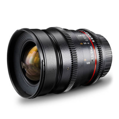 Samyang 24mm T1.5 ED AS IF UMC MFT VDSLR objectief
