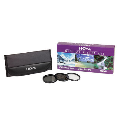 Hoya Digital Filter Kit 27mm (3 filters)