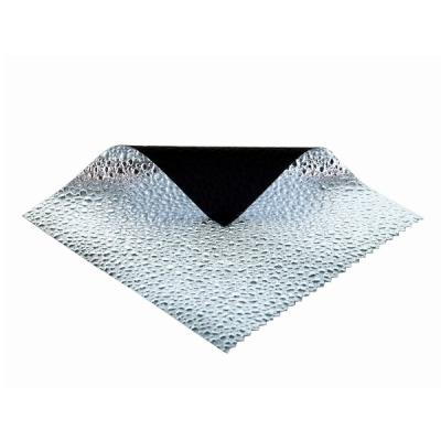 Sunbounce Screen Silver 3D Foil Raindrops - Backsite Black voor Mini