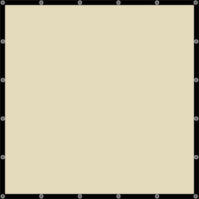 Sunbounce Sun-Scrim 6x6 Screen Zebra Gold / Silver - Backsite White