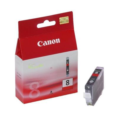 Canon Inktpatroon CLI-8R - Red (origineel)
