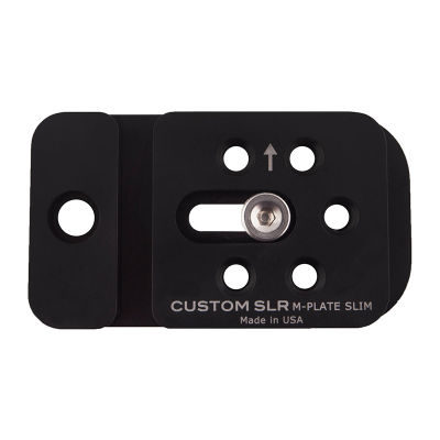 Custom SLR M-Plate Slim Tripod Plate