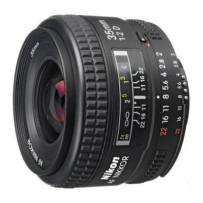 Nikon AF 35mm f/2.0D objectief