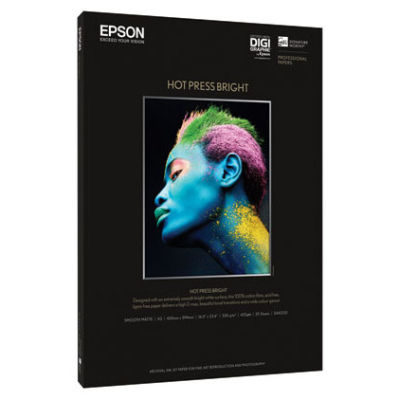 Epson Hot Press Bright A2