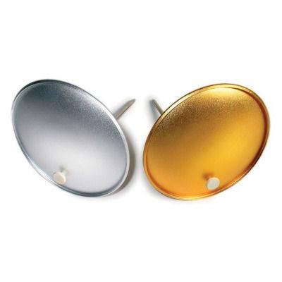 Elinchrom 2 Deflectors Large - 17cm (1 Zilver, 1 Goud, 2 rods, 2 Schroeven)