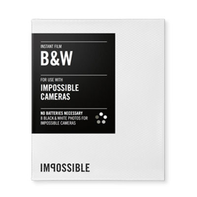 Impossible Black & White Film for Instant Lab