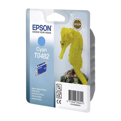 Epson Inktpatroon T0482 - Cyan/Cyaan (origineel)