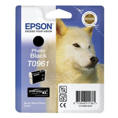 Epson Inktpatroon T0961 - Photo Black (origineel)