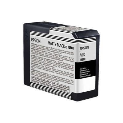 Epson Inktpatroon T580800 - Matte Black/Mat Zwart (Pro 3800/3880) (origineel)