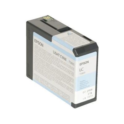 Epson Inktpatroon T580500 - Light Cyan/Licht Cyaan (Pro 3800/3880) (origineel)