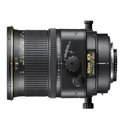 Nikon PC-E 45mm f/2.8D ED Micro objectief