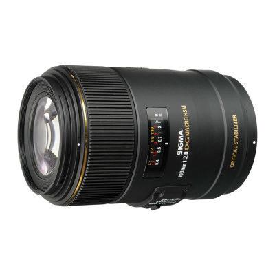Sigma 105mm f/2.8 EX DG OS HSM Macro Nikon objectief