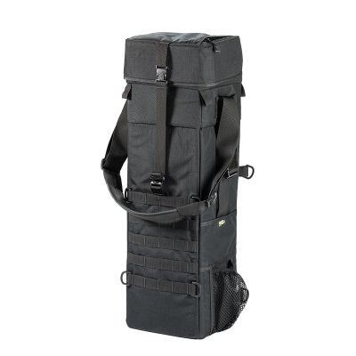 LensCoat 3Xpandable Long Lens Bag Zwart