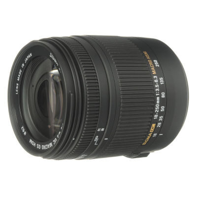 Sigma 18-250mm f/3.5-6.3 DC OS HSM Macro Canon objectief