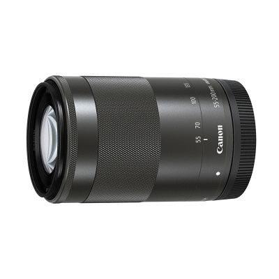Canon EF-M 55-200mm f/4.5-6.3 IS STM objectief Zwart