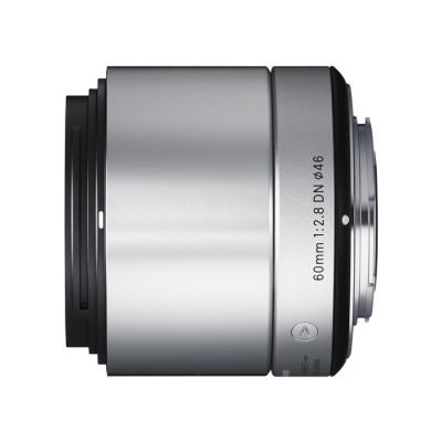 Sigma 60mm f/2.8 ART Micro 4/3 objectief Zilver