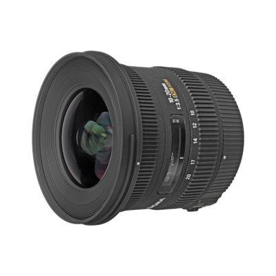 Sigma 10-20mm f/3.5 EX DC HSM Canon objectief