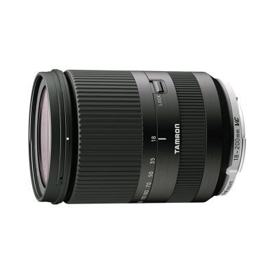 Tamron AF 18-200mm f/3.5-6.3 Di III VC Canon EOS M objectief Zwart