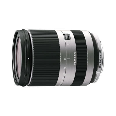Tamron AF 18-200mm f/3.5-6.3 Di III VC Canon EOS M objectief Zilver