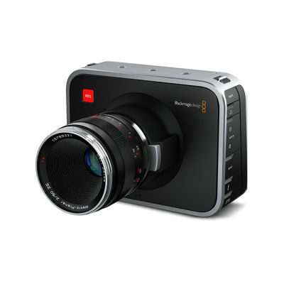 Blackmagic Cinema videocamera - EF-vatting