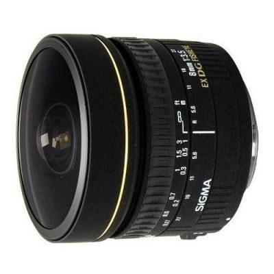 Sigma 8mm f/3.5 EX DG Fisheye Canon objectief