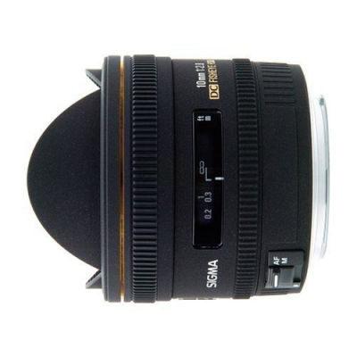 Sigma 10mm f/2.8 EX DC HSM Fisheye Sony objectief