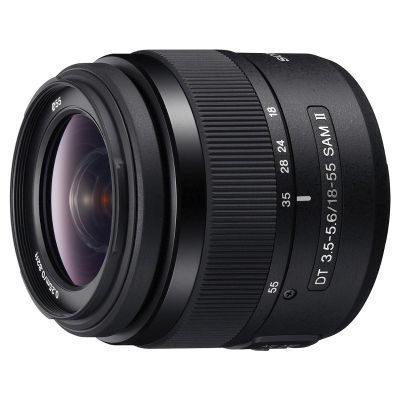 Sony 18-55mm f/3.5-5.6 SAM II objectief - Bulk