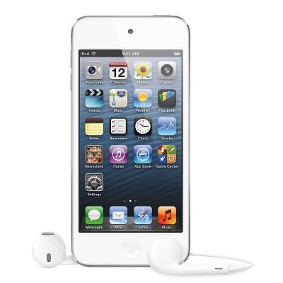 Apple iPod Touch 64GB White & Silver (5G) (MD721NF/A)