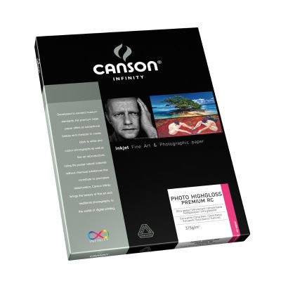 Canson Infinity Photo Highgloss Premium RC 315g A3+ 25 vel