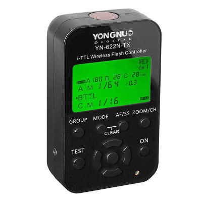 Yongnuo YN622N-TX Wireless TTL Flash Trigger voor Nikon