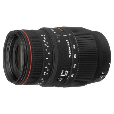 Sigma 70-300mm f/4.0-5.6 DG APO Macro Canon objectief