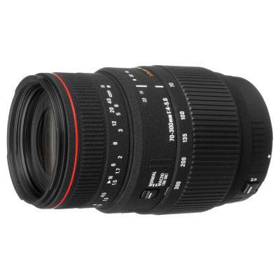 Sigma 70-300mm f/4.0-5.6 DG APO Macro Nikon (Built-in AF) objectief