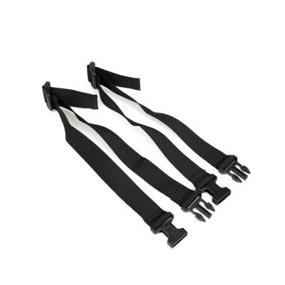 LensCoat Securing straps (set of 2) Zwart