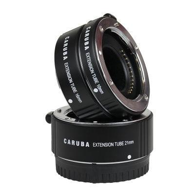 Caruba Extension Tube set Nikon 1-Serie Chroom